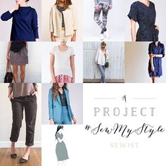 I was very excited to read about a YEAR long sew-along hosted by @alexbartholomew_! 12 patterns in 12 months with the aim to build the ultimate capsule #slowfashion wardrobe. As a long-time lover and advocate of #sustainablestyle and slow fashion - the project hugely appeals to me! Like a few not all the patterns *suggested* suited my style. So whilst I'll be sewing many - I'll be subbing a few too. I'm joining #SewMyStyle next year and here's my #wip plan. Thanks Alex I can't wait!! (Soz…