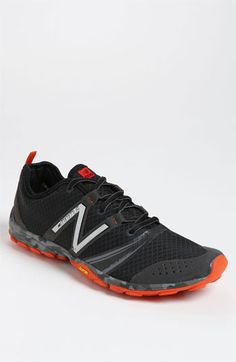 85a802e8672 New Balance Men s Minimus Trail Running Shoe in Black Grey