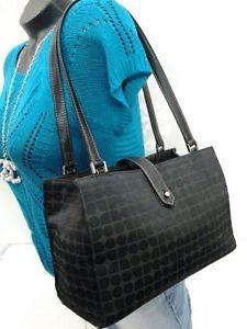 Authentic-Kate-Spade-Black-Noel-Signature-Sam-Tote-Shoulder-Bag