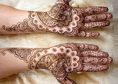Mehndi is the application of henna as a temporary form of skin decoration in India, Pakistan, Nepal and Bangladesh as well as by expatriate communities from those countries. The word mehndi is derived from the Sanskrit word mendhikā. Eid Mehndi Designs, Rajasthani Mehndi Designs, Simple Arabic Mehndi Designs, Mehndi Designs For Beginners, Bridal Henna Designs, Beautiful Mehndi Design, Simple Henna, Rangoli Designs, Mehandi Design For Hand