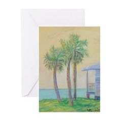 One St. Augustine Morning Greeting Cards