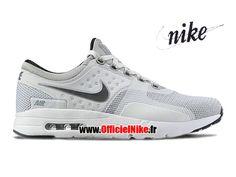 best service 0cee4 0fe64 Homme Chaussures Nike Air Max Zero Gris foncé Gris cendré clair-Blanc  789695-