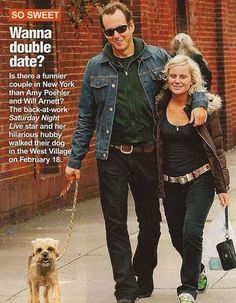 """""""I met Amy [Poehler]. We had sort of met before, but we started dating. From the moment we met, it was the greatest thing that ever happened to me. It was great. We didn't know what we were doing, and all of a sudden she got SNL , so we kind of decided that I guess I had to move to New York; otherwise it wasn't going to work out. So I moved back to New York and it was the greatest. It was great. Probably the best thing that's ever happened to me is Amy."""" -Will Arnett"""