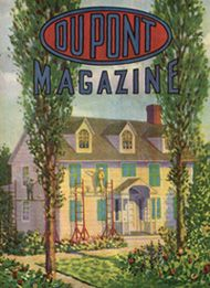 The DuPont magazine, started in 1913 by the DuPont Company, publicized the products and progress of the company during the twentieth century. The issues include articles, product information, and advertisements on topics such as dynamite, quarrying, ammunition, popular plastic products, automobile accessories, and other useful items for the home.