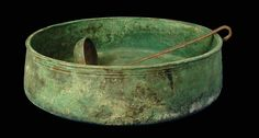 Large Roman Bronze Cooking Pan and Duck-Handled Ladle Circa Century AD Ancient Roman Food, Ancient Rome, Ancient History, Historical Artifacts, Historical Maps, Ancient Artefacts, Roman History, Roman Empire, Sculptures