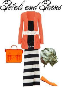 """""""orange"""" by petalsandpurses on Polyvore"""
