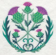 Celtic Thistle Circle