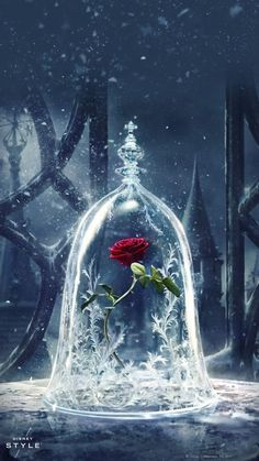'Beauty & the Beast' First Look Poster Revealed!: Photo The first look poster for Beauty and the Beast is here! The highly anticipated live-action Disney movie stars Emma Watson, Dan Stevens, Luke Evans, Kevin Kline,… Disney Beast, Disney Beauty And The Beast, Beauty Beast, Beauty And The Beast Flower, Enchanted Rose, Emma Watson, Disney Love, Disney Magic, Disney 2017