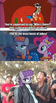 Maud Pie knows what's up