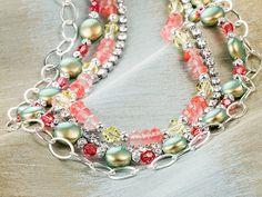 Springtime Iridescence Necklace