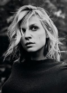 Clémence Poésy - Pablo - Autumn/Winter 2014 | Messy long bob | pinned from hernewtribe