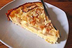 Birnenkuchen mit Vanilleguss (Rezept mit Bild) von caroline48 | Chefkoch.de