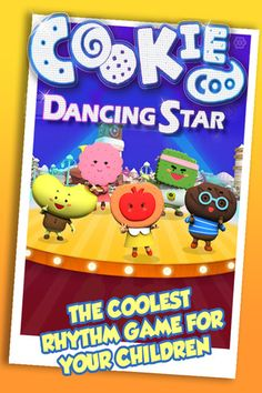 CookieCoo Dancing Star: Top Rhythm Based Game Apps for Kids - Fun Educational Apps: Top Apps for Kids Reviews!