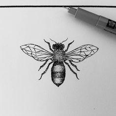 #bee #beetattoo #abelha #abelhatattoo #dotwork #dotworktattoo #pontilhismo #pontilhismotattoo #originaltattoo #minimaltattoo #linework #blackwork #sketch #sketchtattoo #tattoodesign #geometrictattoo #geometricdraw #inkinspiration #suicidegirl #tattooing #tattooartist #tattoo2me #inkmaster #ink #drawing2me #tattooistt #hashtag