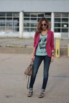 ~pink blazer~