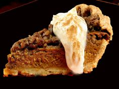 Pumpkin Pecan Crumble Pie - The blue ribbon winner at the American Pie Cook-Off in Celebration, Florida.