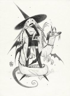 """thecollectibles: """"Blad Moran's engaging and creative character designs for Inktober WITCH one's your favourite? Character Drawing, Character Concept, Character Modeling, Illustrations, Children's Book Illustration, Creature Design, Cute Art, Art Reference, Witch"""