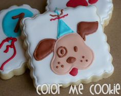 Cute puppies by Color Me Cookie