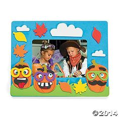 Halloween frame craft
