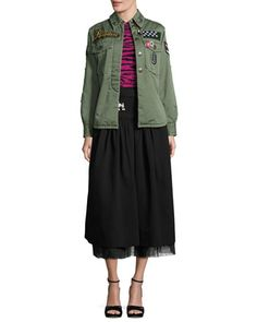 Skirt,+Jacket+&+Sweater+by+Marc+Jacobs+at+Neiman+Marcus.