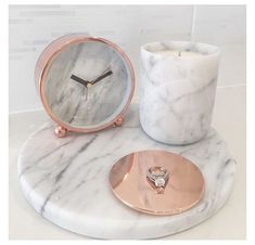 Obsessed with our Marble & Rose Gold range www.florenceandha… Obsessed with our Marble & Rose Gold range www. Rose Gold Rooms, Rose Gold Decor, Room Decor Bedroom Rose Gold, Marble Room Decor, Rose Gold Bathroom Set, Gold Home Decor, Diy Bedroom, Deco Rose, Rose Gold Marble