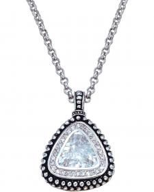 Montana Silversmiths Western Drop Pendant Necklace