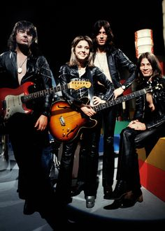 Suzi Quatro and her band