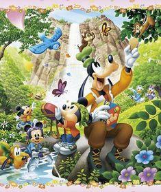 Image Mickey, Mickey Love, Mickey And Friends, Disney Mickey Mouse, Minnie Mouse, Disney Food, Disney Art, Walt Disney, Disney Background