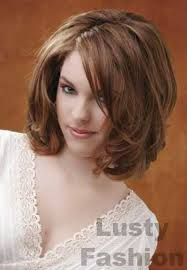 haircuts for women with round faces and thick hair - Google Search
