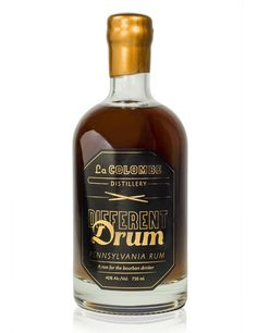 La Colombe Distillery Retail - Different Drum. Rum for the Bourbon drinker.