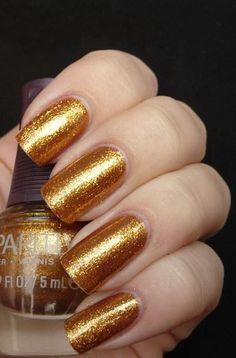 love it nails #nails #nailarts #goldenails
