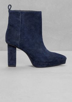 & Other Stories | Pointy Suede Boots