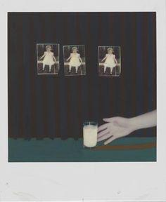 Bruce Charlesworth. Untitled. 1979, Polaroid SX-70. Hand-colored. © Bruce Charlesworth
