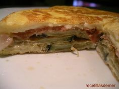 Ideas que mejoran tu vida Frittata, Tart, Sandwiches, Appetizers, Food, Ham And Cheese, Healthy Food, Eating Clean, Juices