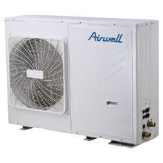 Pompe à chaleur réversible monobloc 5 kW AIRWELL basse température, idéale pour un confort optimal toute l'année.  Solution idéale pour plancher chauffant/rafraîchissant, radiateurs basse température ou ventilo-convecteurs.