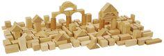 HEROS 100010131  - Piezas de madera natural 100