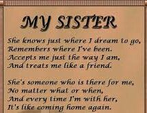 Sister Poems Poetry About Sisters Family Birthday Verses Quotes Sister Quotes Images, My Sister Quotes, Family Quotes, Me Quotes, Sister Sayings, Sister Pictures, Humor Quotes, Beach Pictures, Love My Sister