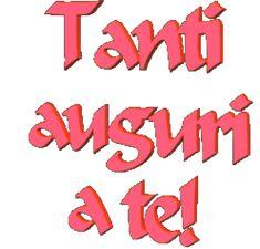 Tanti Auguri a te gif animata gratis Birthday Wishes, Happy Birthday, Gifs, Holiday Parties, Birthdays, Party, Luigi, Humor, Photography