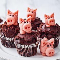 marzipan pigs / duńskie świnki z marcepanu