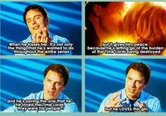 john barrowman on nine + rose. i love john barrowman even more now than i did before! nine loved rose so much!