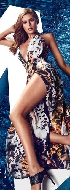 SuiteBlanco Taps Masha Novoselova for its Early  |Spring 2013 Campaign |  @ leopard, strips and prints