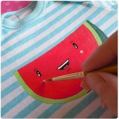 DIY - maľované tričko / Da_Linka » SAShE.sk - slovenský handmade dizajn