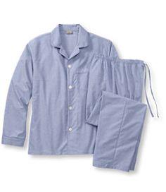 #LLBean: Pima/Cotton Oxford Sleepwear