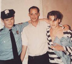 Williem Dafoe, JW and Johnny Depp