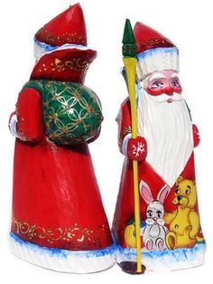 GreatRussianGifts.com - Ded Moroz Hand Carved Wooden Santa, (http://www.greatrussiangifts.com/ded-moroz-hand-carved-wooden-santa/)