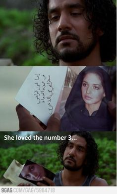 What Sayid was thinking.