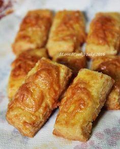 I Love. I Cook. I Bake.: Kaastengels (Cheese Cookies) - 2nd Recipe & More Cookies & Cake I Baked 4CNY
