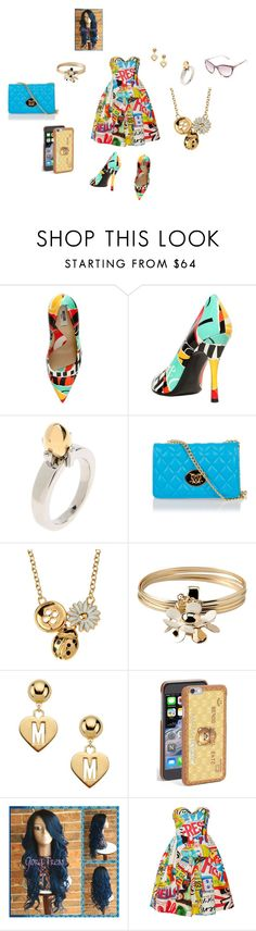"""MOSCHINO (made by mom)"" by theultrafighter ❤ liked on Polyvore featuring Moschino and Moschino Cheap & Chic"