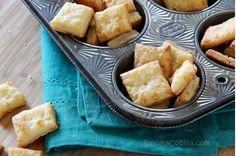 Revista Cocina Receta de galletas saladas con queso