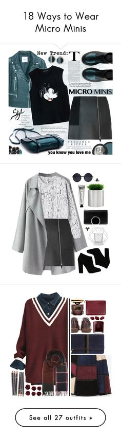 """18 Ways to Wear Micro Minis"" by polyvore-editorial ❤ liked on Polyvore featuring waystowear, microminiskirts, MANGO, Paula Dorf, Markus Lupfer, Alexander Wang, Kenneth Cole, Agent Provocateur, microminis and Monki"
